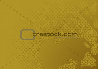 abstract brown circular background