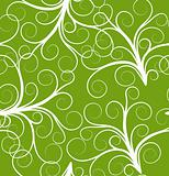 green seamless plant pattern