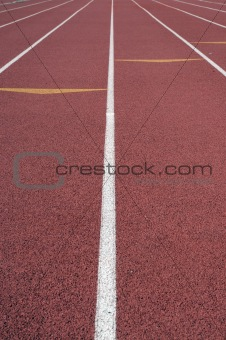 Track and Field running lanes