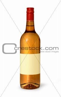 Blank spirits bottle