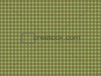 green cloth pattern