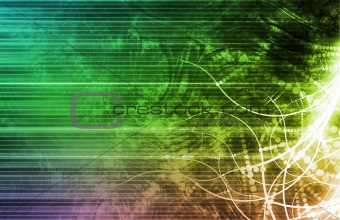 Internet Abstract Background