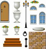 Vector Home Building Components