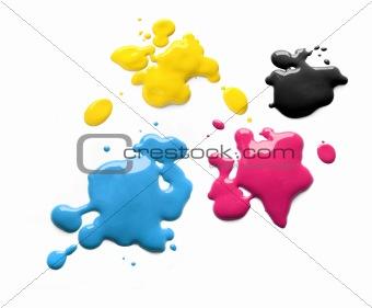 Printing inks cmyk