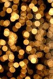 Festive light chain blur