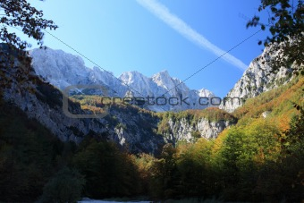 Beautiful Slovenia Alps