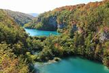 Lakes in Plitvice National Park