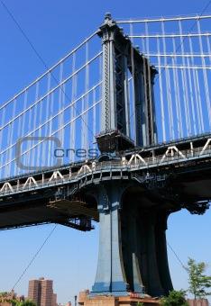 Bridge Pillar in New York City