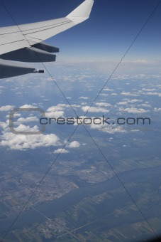 Aerial view of Canada