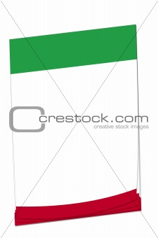 Post-it note Mexican flag