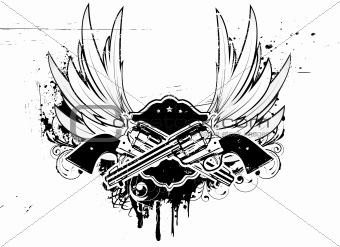 grunge insignia