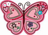 lovely butterfly symbol