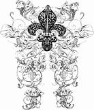 fleur de lis decoration