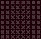 seamless brown flower pattern
