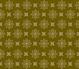 seamless flower damask pattern