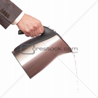 Pouring tea kettle