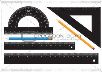 Black ruler