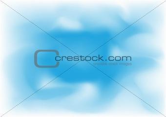 Blue mesh sky