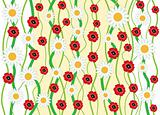 Camomile_and_poppy_background