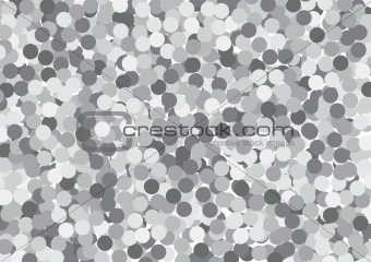 Gray circles background
