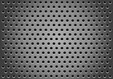 Hole_gray_background