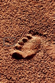 Foot mark
