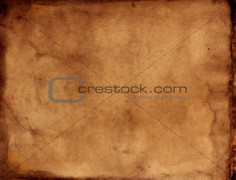 Grungy paper