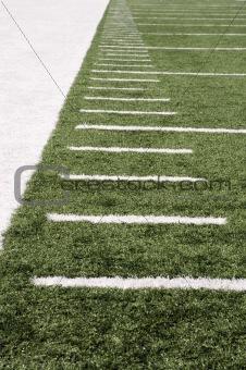football field markers