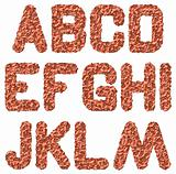 rusted alphabet a-m
