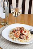 Shrimp Scampi Dish