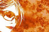 Fiery Woman