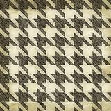 Vintage Hounds Tooth Pattern