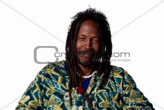 Crying Rastafarian