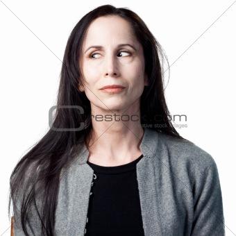 Flirting woman