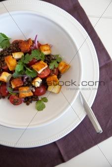 Beautiful lentil salad