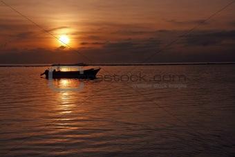 Fisherman at Sanur Beach Bali