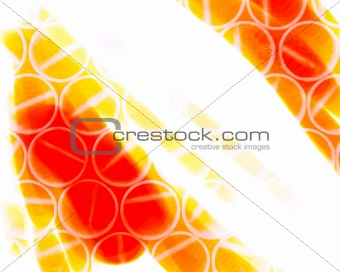 abstract orange circle  background