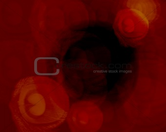 abstract deep red background