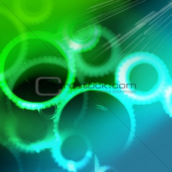 abstract gear texture background
