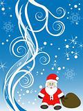 winter/christmas scene