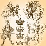 Heraldry Art Set 1