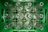 recycling empty bottle to get refilled