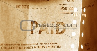 financial Invoice