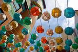 colorfull  lanterns / Asia / South Korea