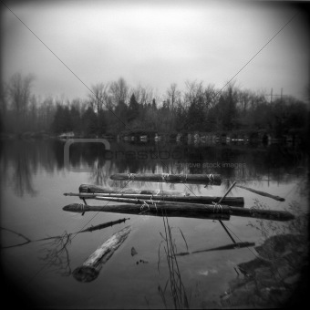 Abandoned Raft