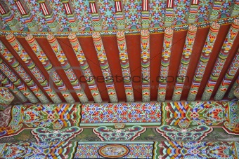 Ancient Asian Architecture /  Detail of Roof