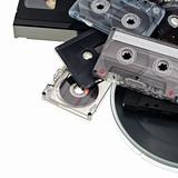 Audio tape background