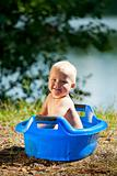 Alfresco bathing