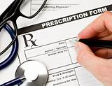 Veterinarian prescription form