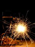 New Year sparkler